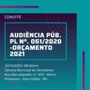 Audiência Pública - Orçamento 2021